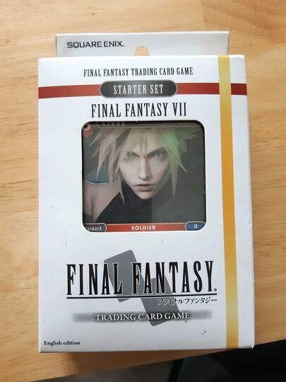 250 cards-final fantasy opus 1 tcg Item Image