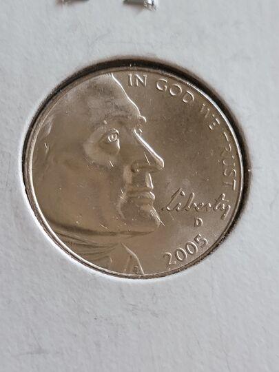 2005 D nickel Item Image